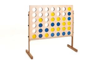 plenerowe gry drewniane